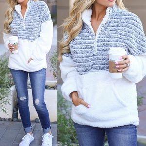 Brand new Sherpa sweater